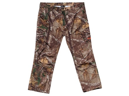 "Under Armour Men's All-Purpose Field Pants Polyester Ripstop Realtree Xtra Camo 32 Waist 32"" Inseam"