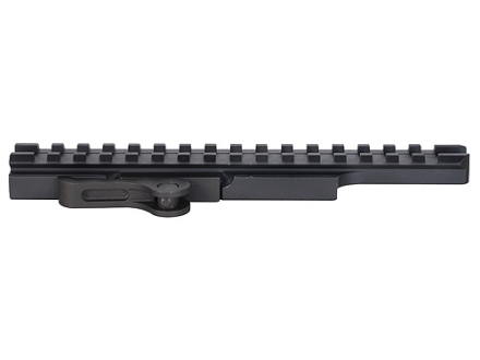 "PRI Quick-Detach Throw Lever Extended Picatinny-Style Riser Mount 7"" AR-15 Flat-Top Aluminum Matte"