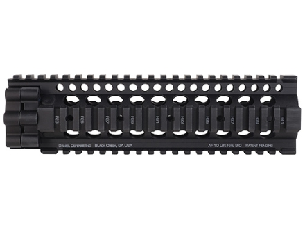 Daniel Defense 7.62 Lite Rail 9.0 Free Float Tube Handguard Quad Rail LR-308 Mid Length Aluminum Black