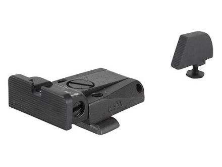 LPA SPR Target Sight Set Glock 17, 19, 20, 21, 22, 23, 25, 26, 27, 28, 29, 30, 31, 32 Steel Blue