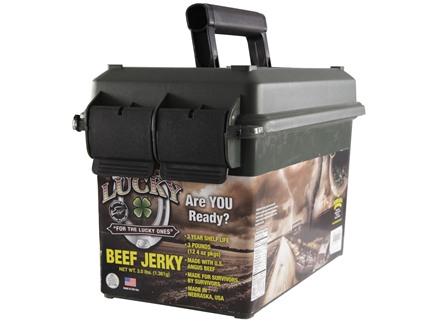 Lucky Brand Beef Jerky Prepper Pack Original Flavor