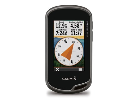 Garmin Oregon 650t Handheld GPS Unit