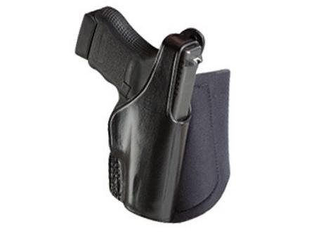 Bianchi 150 Negotiator Ankle Holster Glock 26, 27 Leather Black
