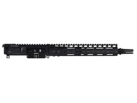 "Noveske AR-15 Pistol N4 Lo-Pro A3 Flat-Top Upper Assembly 300 AAC Blackout 1 in 7"" Twist 12.2"" Barrel Stainless Steel with NSR-11 Free Float Handguard, AAC Blackout Flash Hider"