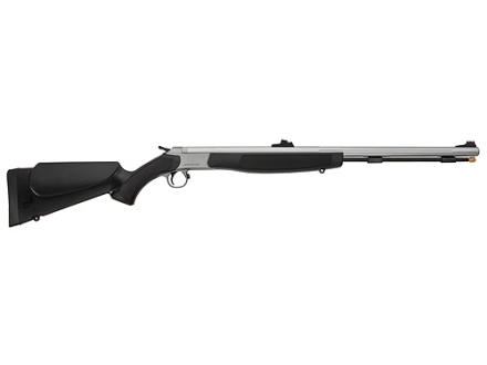 "CVA Optima Magnum Muzzleloading Rifle 50 Caliber 26"" Stainless Steel Barrel Synthetic Stock Black"
