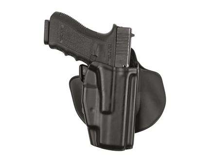 Safariland 5378 GLS (Grip Lock System) Paddle and Belt Loop Holster Glock 26, 27 Polymer Black