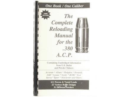 "Loadbooks USA ""380 ACP"" Reloading Manual"