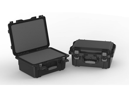 "Plano Military Spec Field Locker Double Pistol Case 19-3/8"" x 14-7/8"" x 8-7/8"" Polymer Black"
