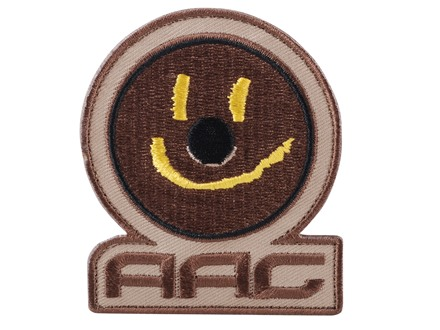 Advanced Armament Co (AAC) Smiley Face Patch Hook-&-Loop Fastener