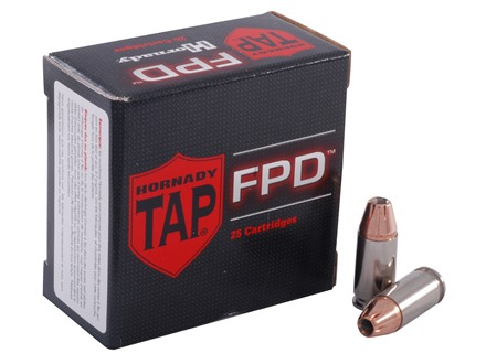 Hornady TAP Personal Defense Ammunition 9mm Luger 124 Grain Jacketed Hollow Point Box of 25
