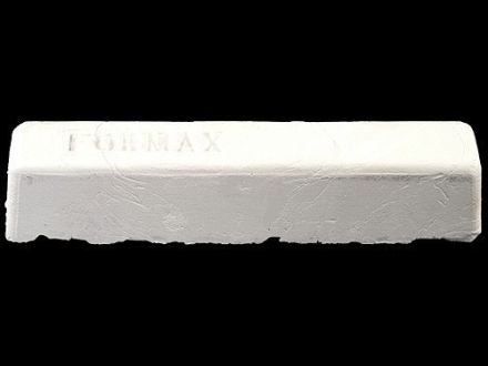 "Formax Buffing and Polishing Wheel Compound White Lightning Rouge 2"" x 2"" x 10"" Bar"