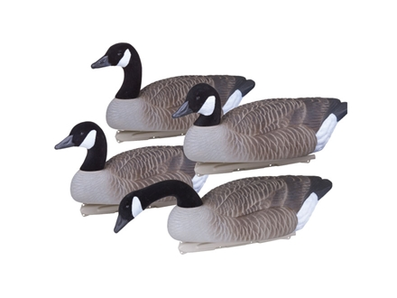 Flambeau Storm Front Weighted Keel Canada Goose Decoys Pack of 4