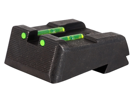 HIVIZ Rear Sight Kimber 1911 All Models with Fixed Rear Sight Fiber Optic Green