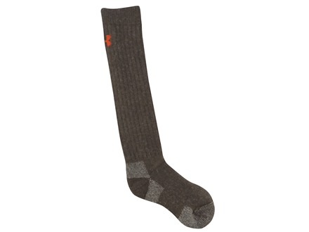 Under Armour Men's UA Scent Control Over the Calf Socks Polyester Wool Blend Hearthstone Medium (4-8-1/2)