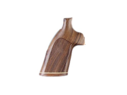 Hogue Fancy Hardwood Grips with Accent Stripe Ruger Redhawk Checkered Pau Ferro