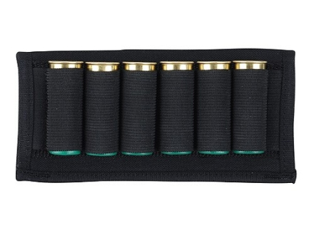 Uncle Mike's Belt Slide Shotshell Ammunition Carrier 6-Round Nylon Black
