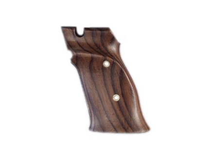 Hogue Fancy Hardwood Grips S&W 41 Right Hand Thumb Rest Rosewood