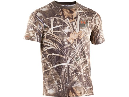 Under Armour Men's HeatGear Camo Charged Cotton T-Shirt Short Sleeve