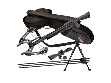 PSE TAC 15I Crossbow Package with Hawke 2-7x 32mm Adjustable Objective Scope Black