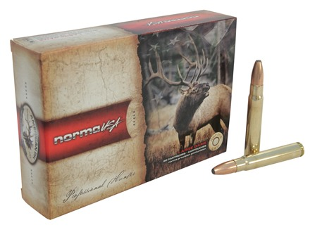 Norma USA American PH Ammunition 9.3x62mm Mauser 232 Grain Oryx Protected Point Box of 20