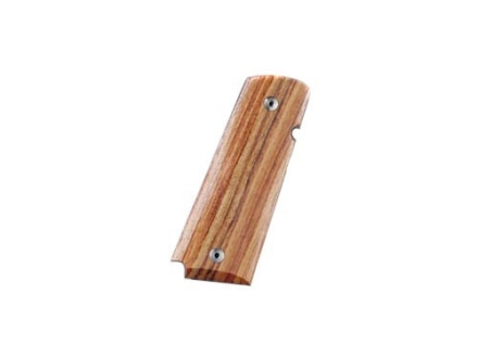 Hogue Fancy Hardwood Grips with Palm Swells 1911 Government, Commander Tulipwood