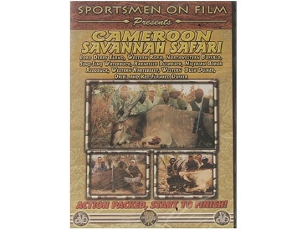 "Sportsmen on Film Video ""Cameroon Savannah Safari"" DVD"