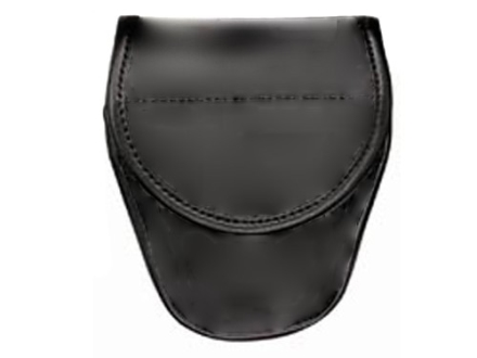 Bianchi 7900 AccuMold Elite Covered Cuff Case Hidden Snap Trilaminate High-Gloss Black
