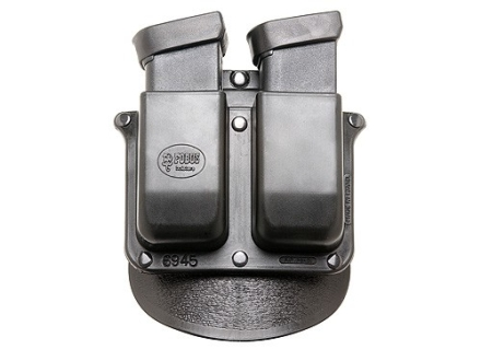 Fobus Roto Paddle Double Magazine Pouch Glock 20, 21, 29, 30 Polymer Black