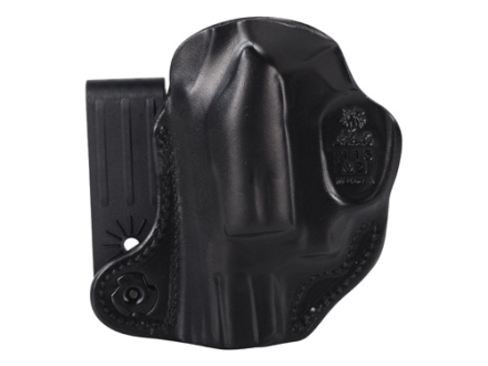 DeSantis Flex-Tuk Inside the Waistband Holster Right Hand Smith & Wesson J-Frame Revolver Leather Black