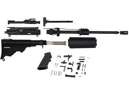 "DPMS Oracle AR-15 Unassembled Carbine Kit 5.56x45mm NATO 16"" Barrel with Oracle Upper Assembly, Collapsible Stock Assembly, Lower Receiver Parts Kit"