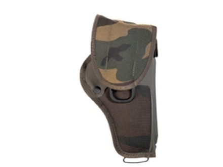 "Bianchi UM84-3 Universal Military Holster Large Frame Semi-Automatic 3.5"" Barrel Nylon Woodlands Camo"