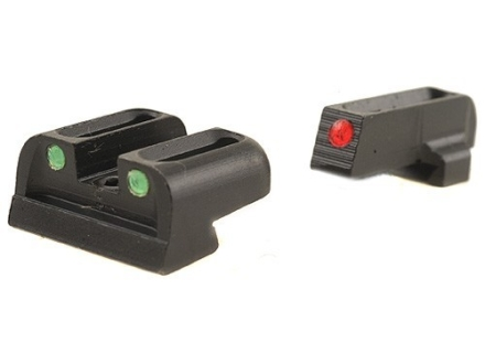 TRUGLO Brite-Site Sight Set Sig Sauer #6 Front #8 Rear Steel Fiber Optic Red Front, Green Rear