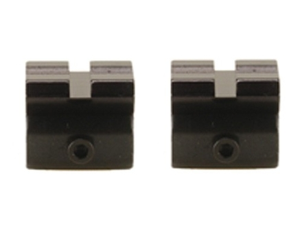 """Ironsighter 2-Piece Adapter Scope Base from 3/8"""" Grooves to Weaver-Style Base"""