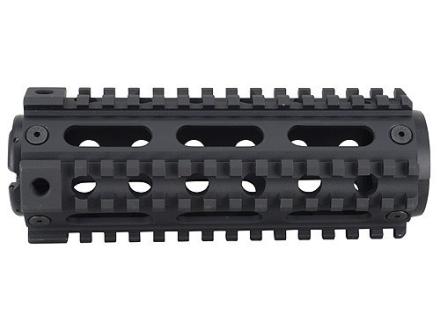 Yankee Hill Machine 2-Piece Handguard Quad Rail AR-15 Carbine Length fits Colt Carbines Only Aluminum Matte