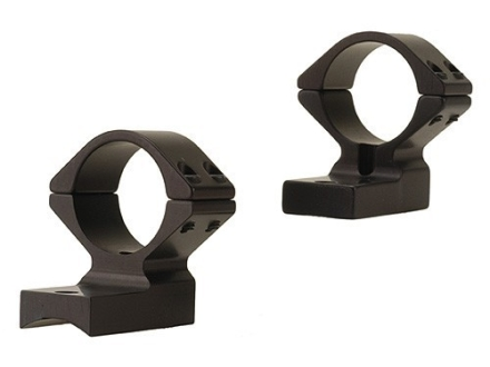 "Talley Lightweight 2-Piece Scope Mounts with Integral 1"" Extended Front Savage 10 Through 16, 110 Through 116 Flat Rear Matte Medium"