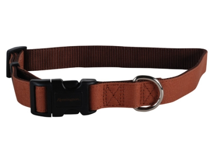 "Remington Adjustable Clip Dog Collar 1""  Nylon"
