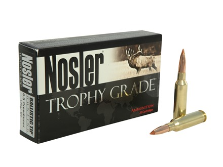 Nosler Trophy Grade Ammunition 6.5 Creedmoor 140 Grain Ballistic Tip Box of 20