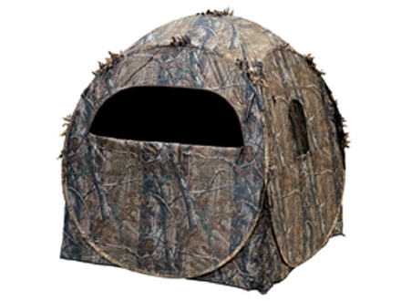 "Ameristep Doghouse Ground Blind 60"" x 60"" x 68"" Polyester Realtree APG Camo"