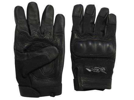 Wiley X Combat Assault Gloves Touch Technology Black