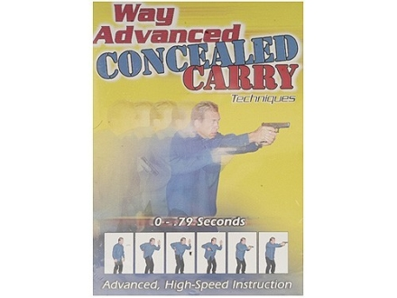 "Gun Video ""Way Advanced Concealed Carry Techniques"" DVD"