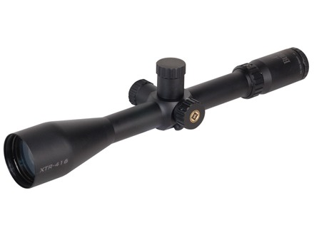 Burris Xtreme Tactical XTR Rifle Scope 30mm Tube 4-16x 50mm Side Focus Ballistic Mil-Dot Reticle Matte