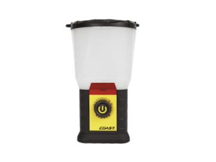 Coast EAL20 LED Lantern Red and White LED without Batteries (4 D) Polymer Yellow and Black