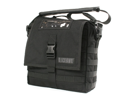 Blackhawk Enhanced Battle Bag with Webbing Nylon Black