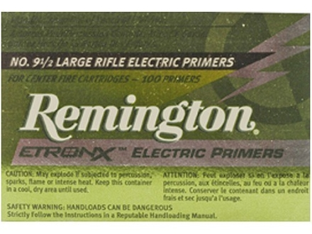 Remington EtronX Electronic Primers Box of 1000 (10 Trays of 100)