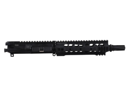"Advanced Armament Co (AAC) AR-15 Pistol A3 Flat-Top Upper Assembly 300 AAC Blackout 1 in 7"" Twist 9"" Barrel with KAC URX III Modular Free Float Quad Rail Handguard, Blackout Flash Hider"