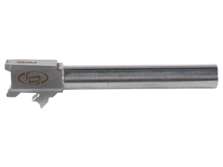 "Storm Lake Conversion Barrel Springfield XD Tactical 40 S&W to 9mm Luger 1 in 16"" Twist 5.01"" Stainless Steel"