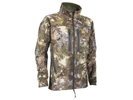APX Men's L4 Gale Softshell Jacket Polyester King's Mountain Shadow Camo XL 46-48