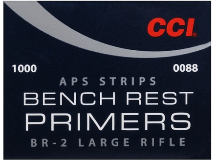 CCI Large Rifle APS Bench Rest Primers Strip #BR2