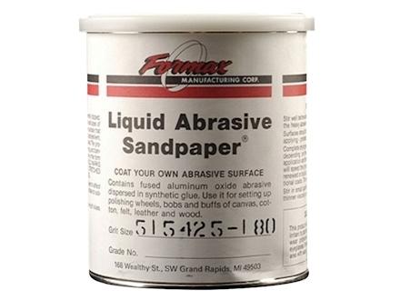 Formax Liquid Abrasive Sandpaper 180 Grit 1 Quart