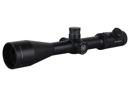 Vortex Viper PST Rifle Scope 30mm Tube 4-16x 50mm Side Focus 1/10 MIL Adjustments Illuminated EBR-1 MRAD Reticle Matte